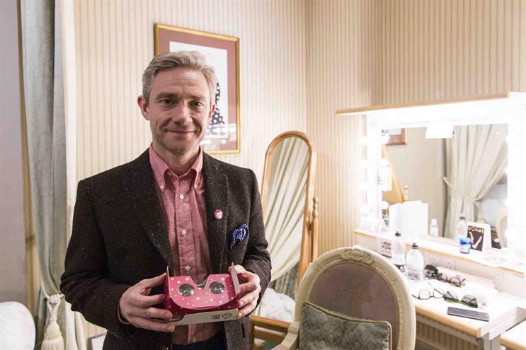 Martin Freeman narrates Great Ormond Street Hospital Christmas campaign