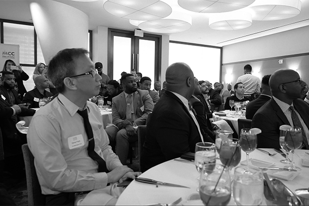 Where are black men in PR? At the Men of Color in Communications' first luncheon, apparently
