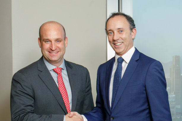 Deal: Nova (l) sells to Hume Brophy (CEO McDevitt on right)