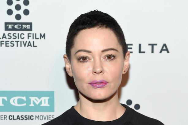 Actress Rose McGowan. (Photo credit: Getty Images).