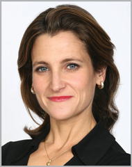 Journalist Q&A: Chrystia Freeland, global editor-at-large, Thomson Reuters