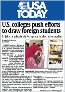 Department of Commerce arm sells USA Today on value of its global education effort