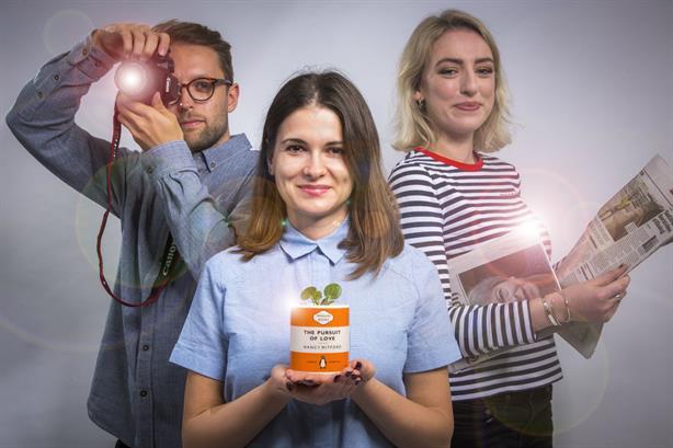 Three 2018 mentees: (left to right) Kevan Barber, Alexandra Branzan and Jo Aitchison