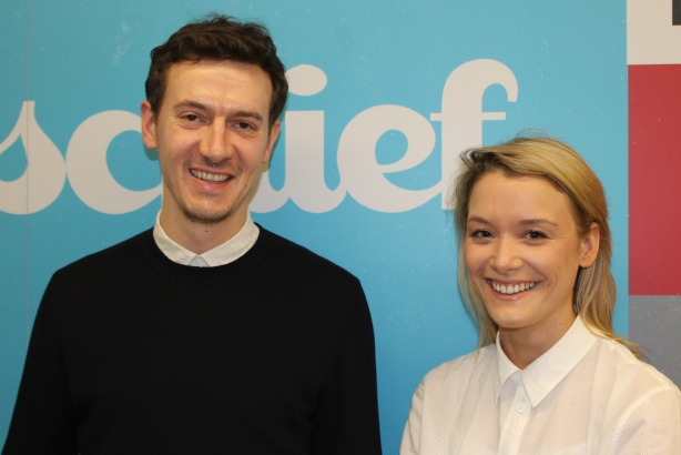 New hires: Freddy Davies from Red and Jess Buttress from Tesco