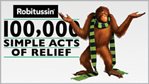 Robitussin eases consumer confusion with 'Simple Acts'