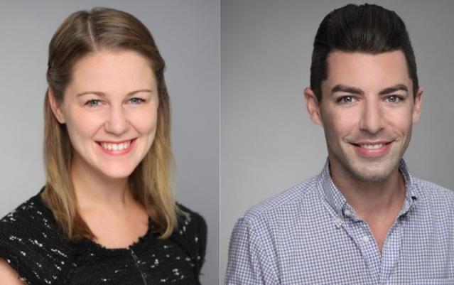 Amanda Mulally and Michael Grela, images via LinkedIn