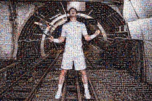 Under Armour serves up digital fan mosaic for Murray's Wimbledon triumph