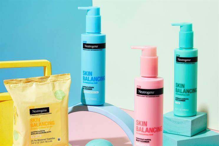 Golin will work on Neutrogena and other skin-care brands in the U.S. and Canada. (Image via Neutrogena's Facebook account)