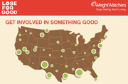 Weight Watchers draws attention to food scarcity