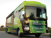 NAPFA provides finance advice with its bus tour