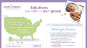 March of Dimes puts premature babies in the election spotlight