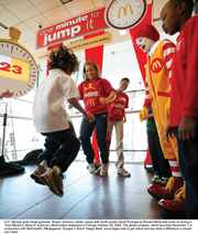 McDonald's encourages kids to take a minute and 'Move It'