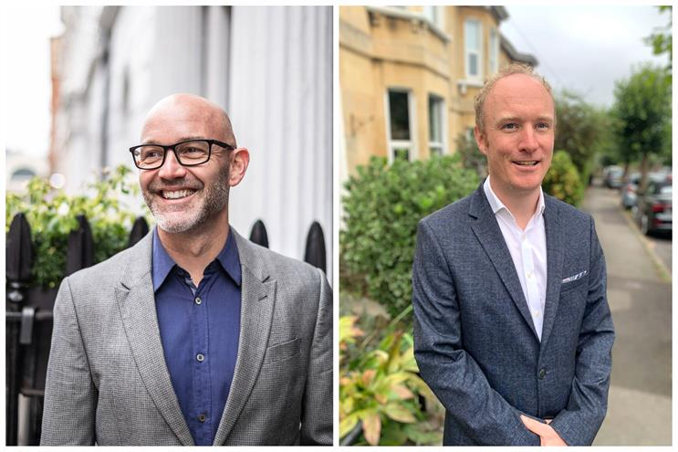 (L to R) Dominic Marchant, founder and chief creative officer of ARK, and Oliver Childs, MD of ARK Comms