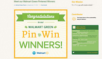 Walmart pins its colors on  the board to win consumers
