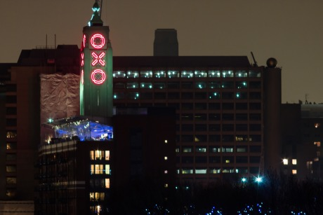Oxo Tower: the restaurant, bar and brasserie is on the 8th floor