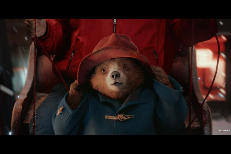 M&S takes swipe at John Lewis as Paddington campaign creates Christmas buzz - but its rival 'should not be worried'