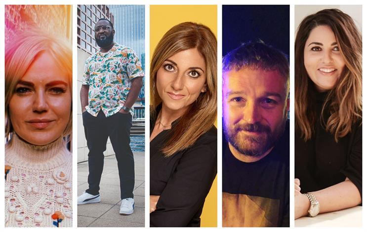 Panelists (L to R): Lotte Jones, Julian Obubo, Mandy Sharp, Steve Strickland and Sophie Raine