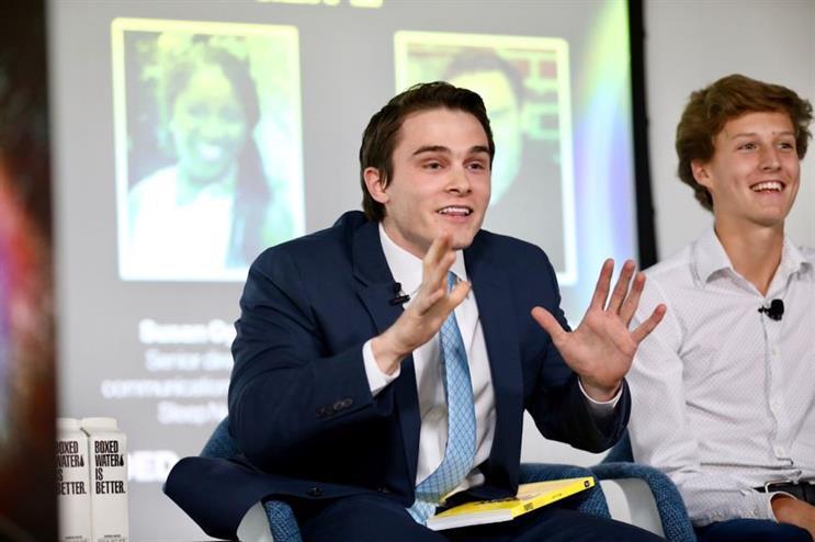 Harvard student Michael Pankowski at PRDecoded