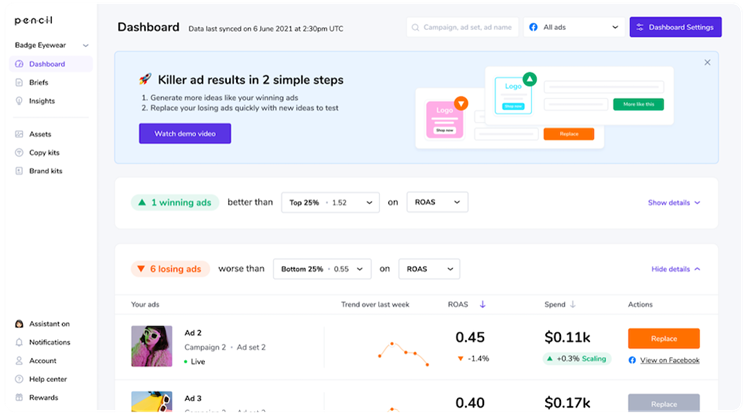 Pencil launches AI dashboard, audit function