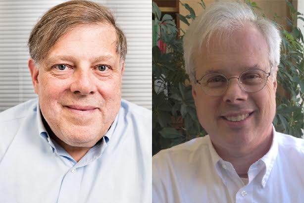 L-R: Mark Penn and Peter Finn