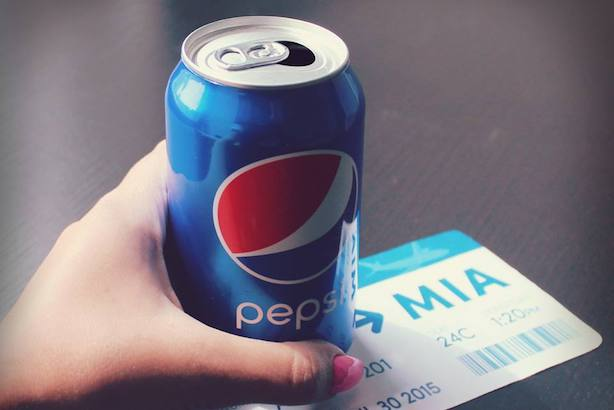 Pepsi unveiled a new sustainability initiative on Monday. (Image via the brand's Facebook page).