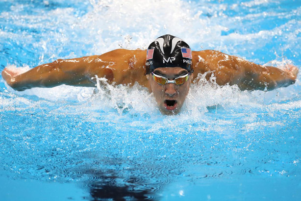 The most influential athlete is apparently Michael Phelps (©Christian Petersen / Rio 2016)