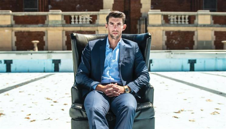 Michael Phelps appeared in an ad campaign for Talkspace expounding the virtues of the online therapy platform.