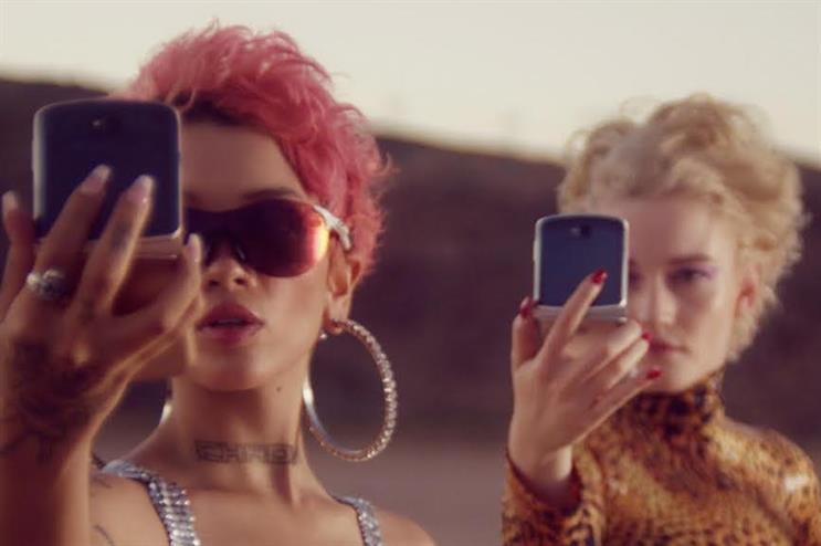 Motorola's reinvented Razr flip phone stars in short film with Julia Garner