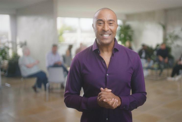 Former Olympic sprinter and hurdler Colin Jackson fronts the campaign urging adults to check their cholesterol levels