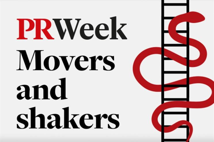 PRWeek's round-up of industry hires, departures and promotions.