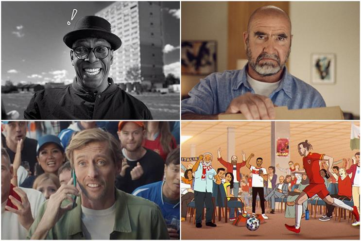 Euro 2020: tournament celebrated by ITV, Paddy Power, Just Eat and more