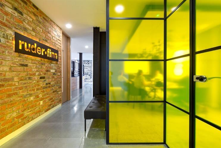 Ruder Finn has offices in London's Moorgate