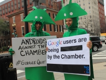 Grassroots campaign wants Google out of Chamber