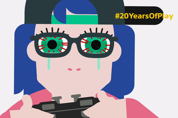 PlayStation: Celebrating #20yearsofplay with video inspired by gamers' tweets