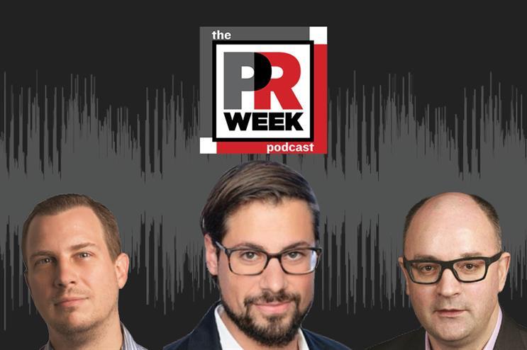 L to R: Frank Washkuch, Salah Husseini, Steve Barrett