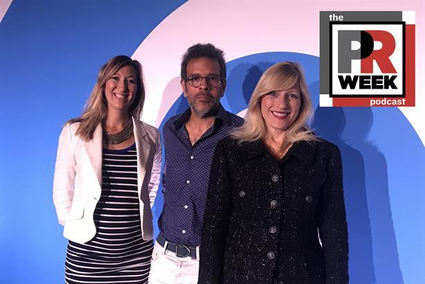 L to R: Jen Wilson, marketing director of Reef,  PJ Pereira, creative chairman and co-founder of Periera O'Dell, and Loreen Babcock, VP and CMO of Montefiore Medical Center.