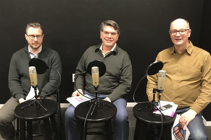 L to R: Frank Washkuch, Alan Kelly, Steve Barrett