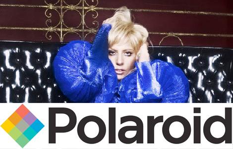 Polaroid splits with creative director Lady Gaga