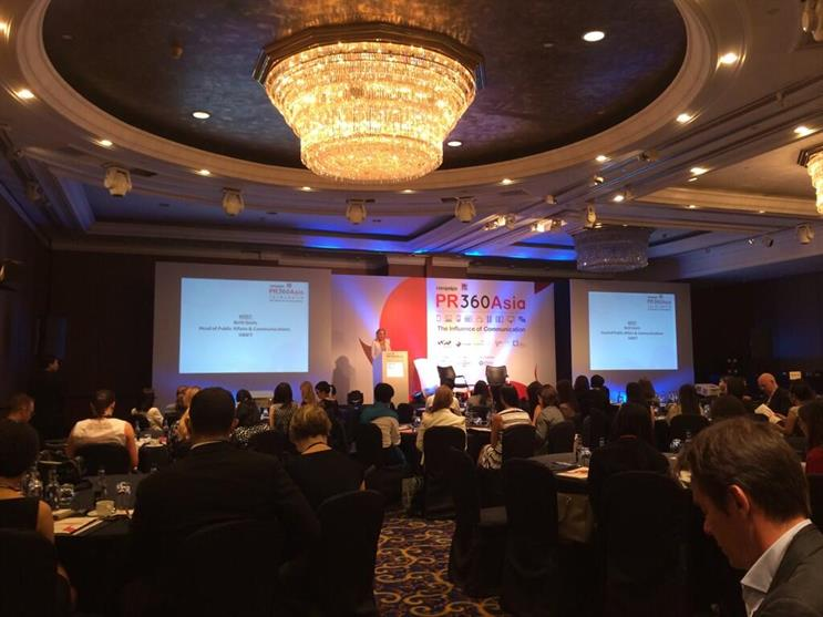 PR360Asia underway today: Highlights via Twitter