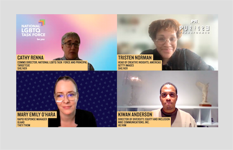 Panelists discuss why brands should represent LGBTQ people in marketing.
