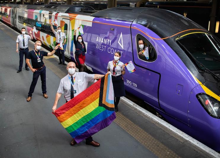 'We riled Piers Morgan, high praise indeed!' - #PowerOfPR with Avanti West Coast's Pride Train