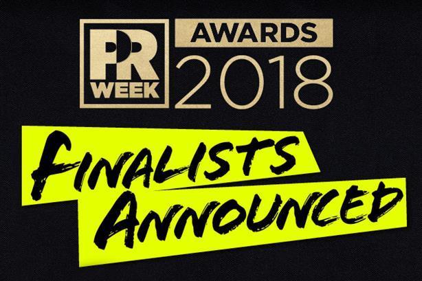PRWeek U.S. Awards 2018 shortlist revealed