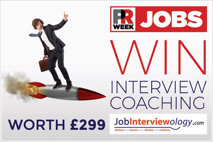 Win a career coaching package worth £299 to help you succeed in PR job interviews
