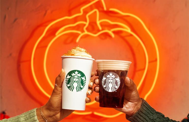 Starbucks brought back the Pumpkin Spice Latte on Tuesday.