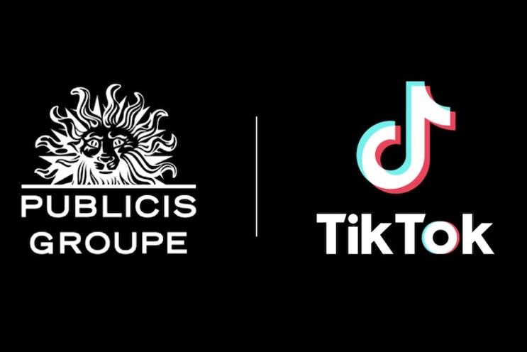 Publicis is working with TikTok on social commerce.