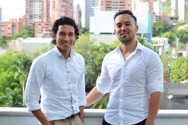 L-R: COO Eddie Arrieta and CEO Conrad Egusa