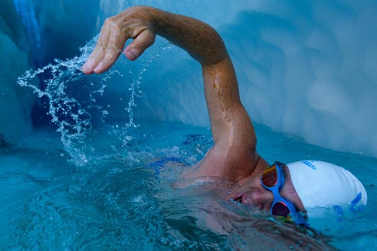 Top of the Month: Lewis Pugh makes media splash with world-first Antarctic swim