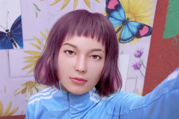 Influencer sells virtual portraits of virtual self as NFTs
