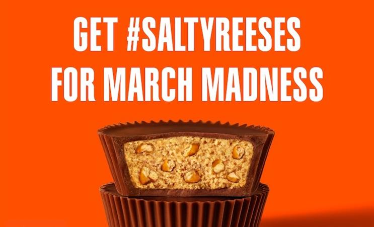 Reese's gets salty with March Madness Twitter sweepstakes