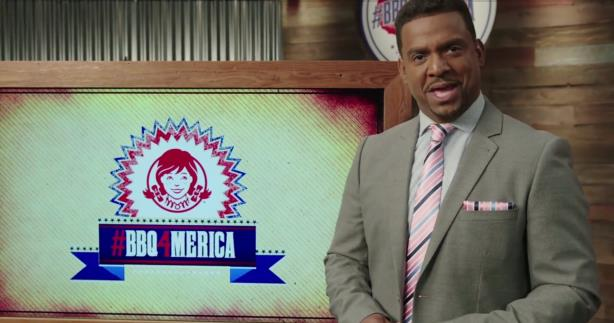Karate Kid, Carlton help Wendy's solve problem of 'barbecue inaccessibility'
